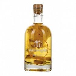 Demi-bouteille Les Rhums de Ced Rhum Rhum arrangé Ananas Victoria 37.5cl