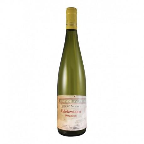 Sylvie Spielmann Alsace ou vin d'Alsace Edelzwicker 2015 75cl