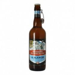 Brasserie du Mont Blanc Bière La Blanche 75cl