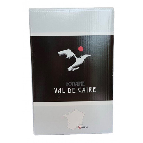 BIB Domaine Val de Caire ROSE Bouches-du-Rhône Igp 5L