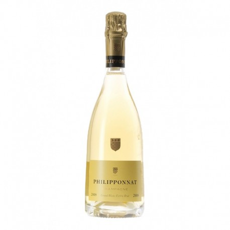 Philipponnat Champagne Grand Blanc Extra Brut 2008 75cl