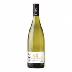 Colombard - Domaine UBY Côtes de Gascogne Vin de pays UBY N° 3 75cl