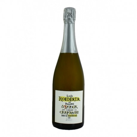 Louis Roederer Champagne Brut Nature avec Philippe Starck 2009 75cl