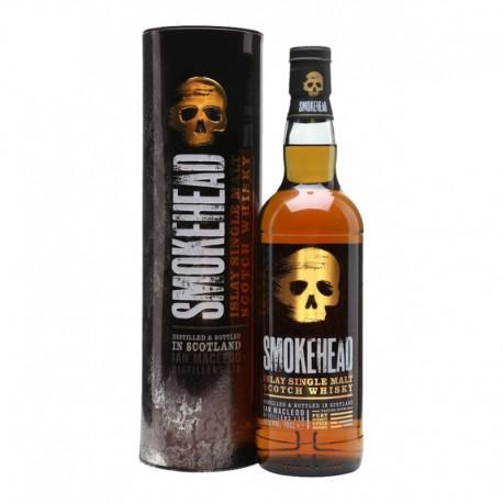 Smokehead Whisky Ecosse Single malt tourbé d'Islay 70cl
